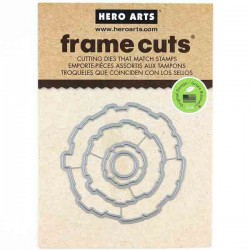 Hero Arts Graphic Flowers Frame Cuts