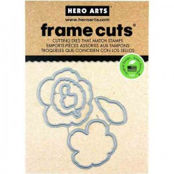 Color Layering Hibiscus Frame Cuts