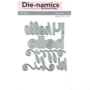 Happy Hellos Die-namics class=