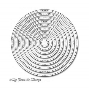 Die-namics Stitched Circle STAX