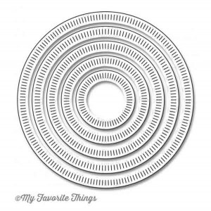Die-namics Radial Stitched Circle STAX