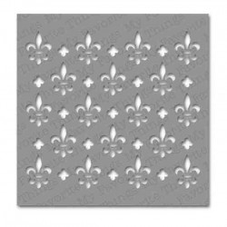 My Favorite Things Fleur-de-lis Stencil
