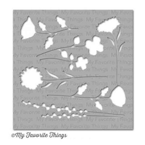 My Favorite Things Wildflowers Mix-ables Stencil