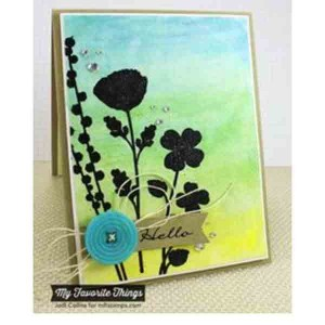 My Favorite Things Wildflowers Mix-ables Stencil class=
