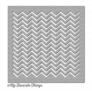 My Favorite Things Small Chevron Stripes Stencil