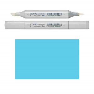 Copic Sketch - FBG2 Fluorescent Dull Blue Green class=
