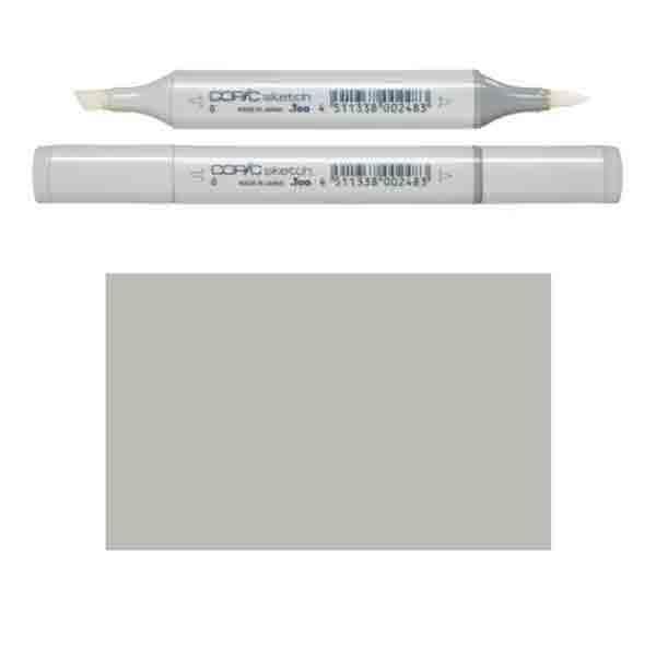 W4 Warm Grey Copic Marker