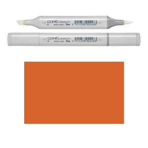 Copic Sketch – YR27 Tuscan Orange