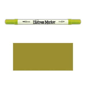 Tim Holtz Distress Marker - Crushed Olive class=