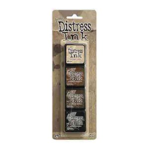 Mini Distress Ink Pad Kit #3
