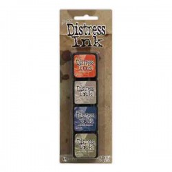 Mini Distress Ink Pad Kit #5