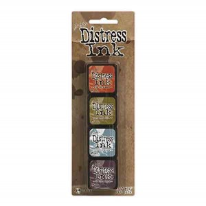 Mini Distress Ink Pad Kit #8