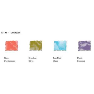 Tim Holtz Mini Distress Ink Pad Kit #8 class=