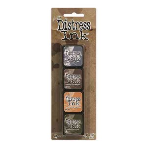 Mini Distress Ink Pad Kit #9