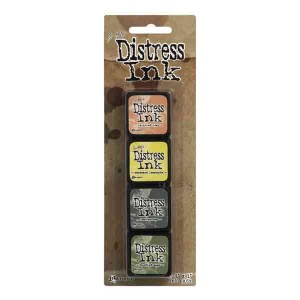 Mini Distress Ink Pad Kit #10