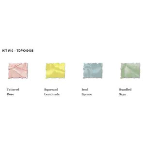 Tim Holtz Mini Distress Ink Pad Kit #10 class=