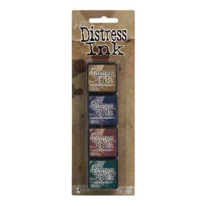 Mini Distress Ink Pad Kit #12