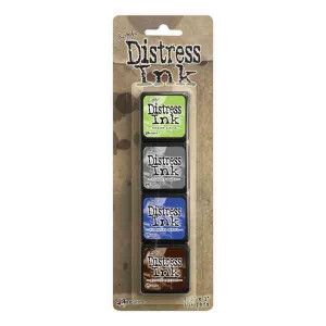 Mini Distress Ink Pad Kit #14