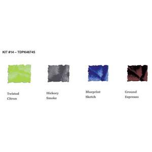 Tim Holtz Mini Distress Ink Pad Kit #14 class=