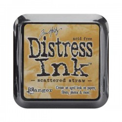Scattered Straw Distress Ink Pad