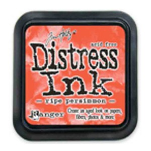 Ripe Persimmon Distress Ink Pad by Tim Holtz