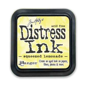 Squeezed Lemonade Distress Ink Pad