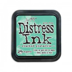 Tim Holtz Distress Ink Pad -Cracked Pistachio