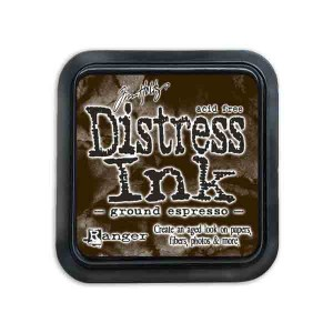 Tim Holtz Distress Ink Pad - Ground Espresso