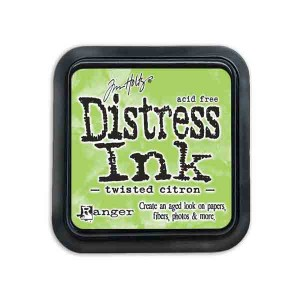 Twisted Citron Distress Ink Pad