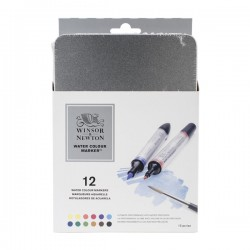 Winsor & Newton Artist Watercolor Marker Set 12/Pkg