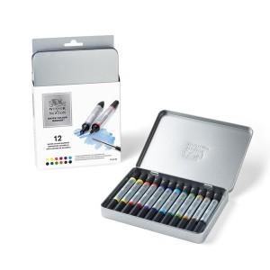 Winsor & Newton Artist Watercolor Marker Set 12/Pkg class=
