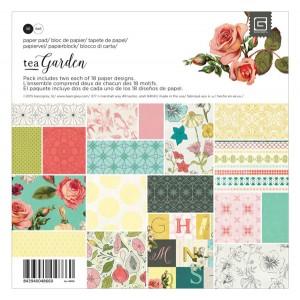 """Tea Garden 6"""" x 6"""" Paper Pak"""