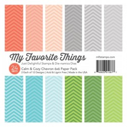 Calm & Cozy Chevron Paper Pack
