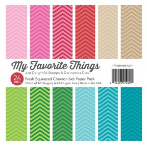 Fresh Squeezed Chevron Paper Pack