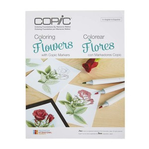 Copic Coloring Flowers Book