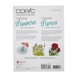 Copic Coloring Flowers Book class=