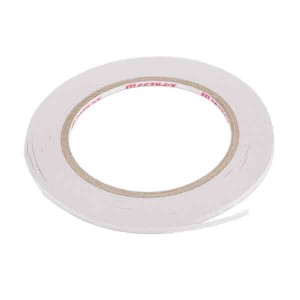 "Double Sided Tape High Tack - 3mm (1/8"") wide class="