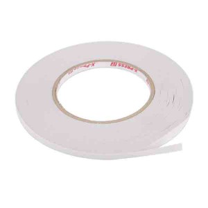 "High Tack Double-Sided Tissue Tape, 6mm (1/4"") wide class="