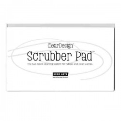 Clear Design Scrubber Pad