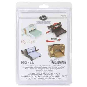 Sizzix BIGkick/Big Shot Cutting Pads 1 Pair, Standard