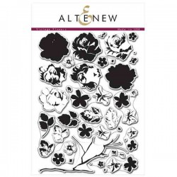 Altenew Vintage Flowers Stamp Set