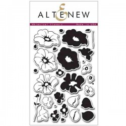Altenew Whimsical Flowers Stamp Set