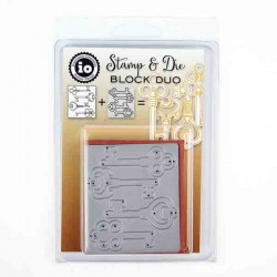 Stamp & Die Duo - Candle Block