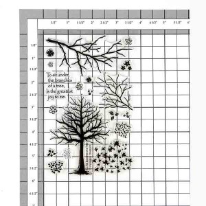 Branches of a Tree Stamp Set class=