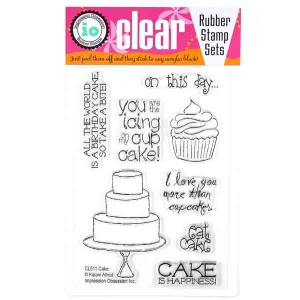 Cake Stamp Set