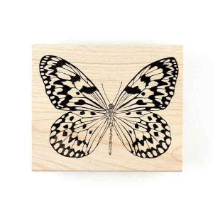 Judikins Butterfly #3 Rubber Stamp