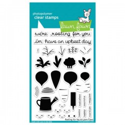 Lawn Fawn Rooting For You Stamp Set