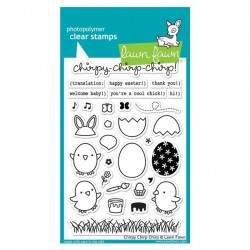 Lawn Fawn Chirpy, Chirp, Chirp Stamp Set