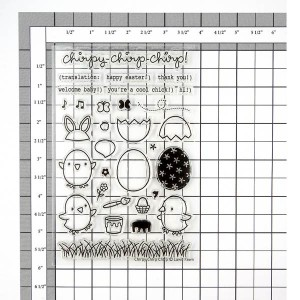 Lawn Fawn Chirpy, Chirp, Chirp Stamp Set class=