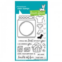Lawn Fawn Loads of Fun Stamp Set